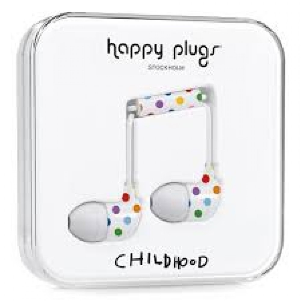 Happy Plugs In-Ear Childhood