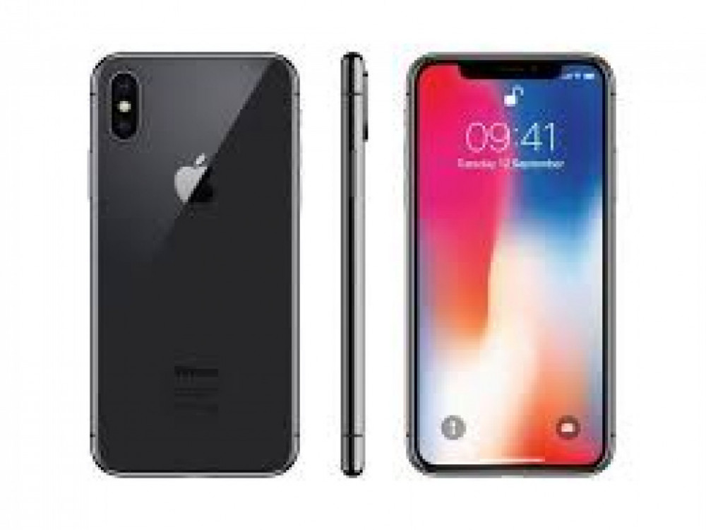. iPhone X 64GB  Space grey