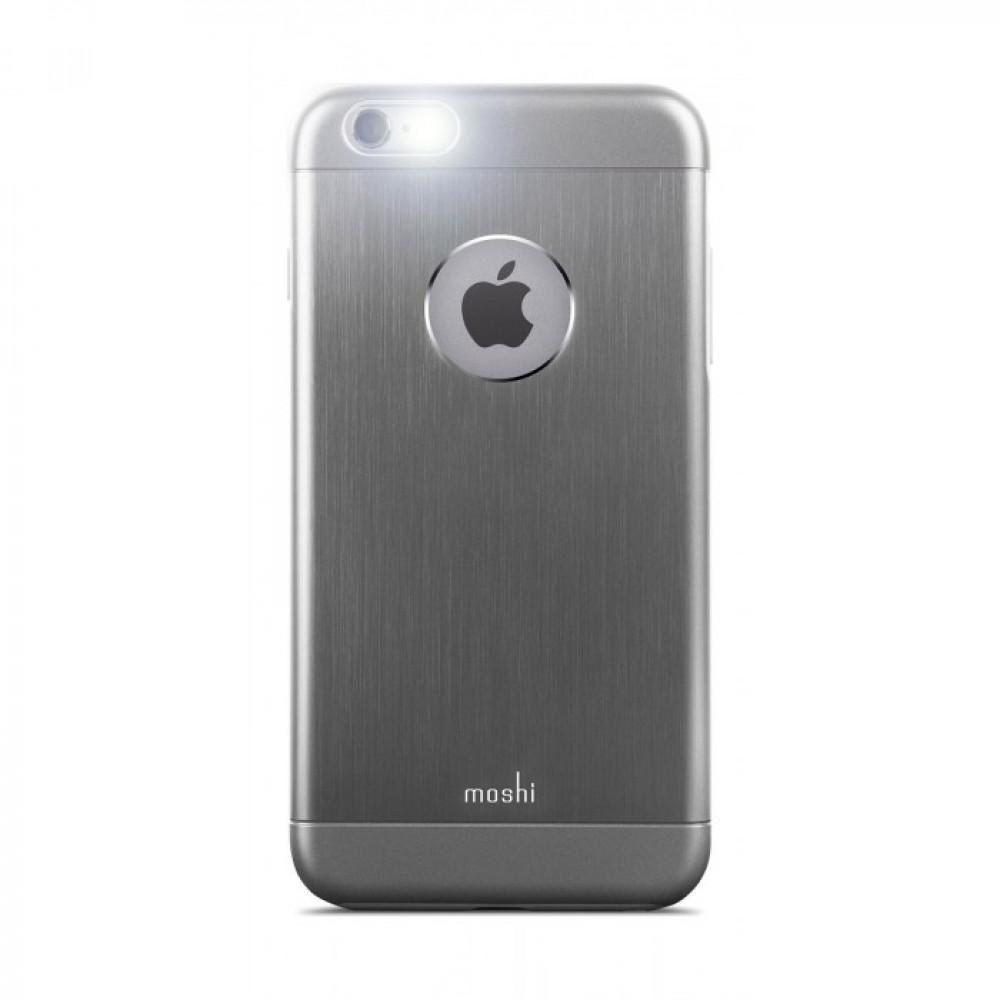 Moshi iGlaze Armour för Iphone 6 Plus Gunmetal