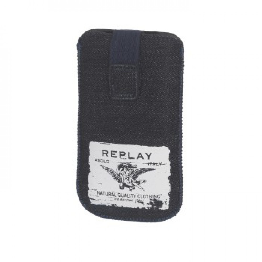 Replay Denim Sleeve Stl.1 Mörk Blå/Vit