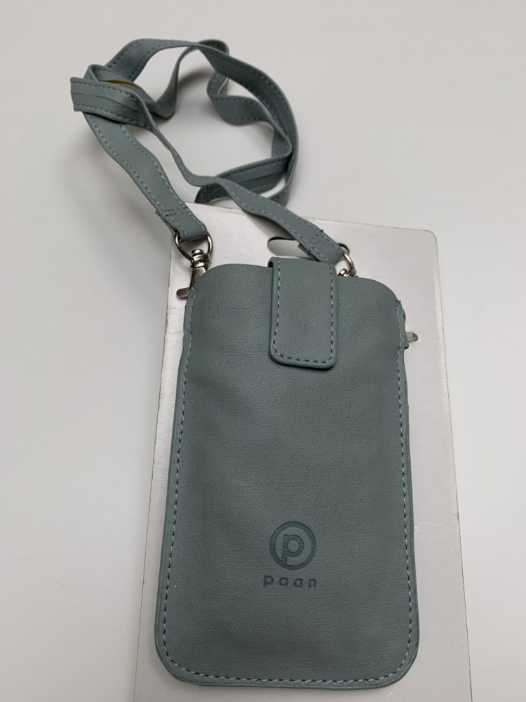 . Paan Pouch Neck Strap Light Grey