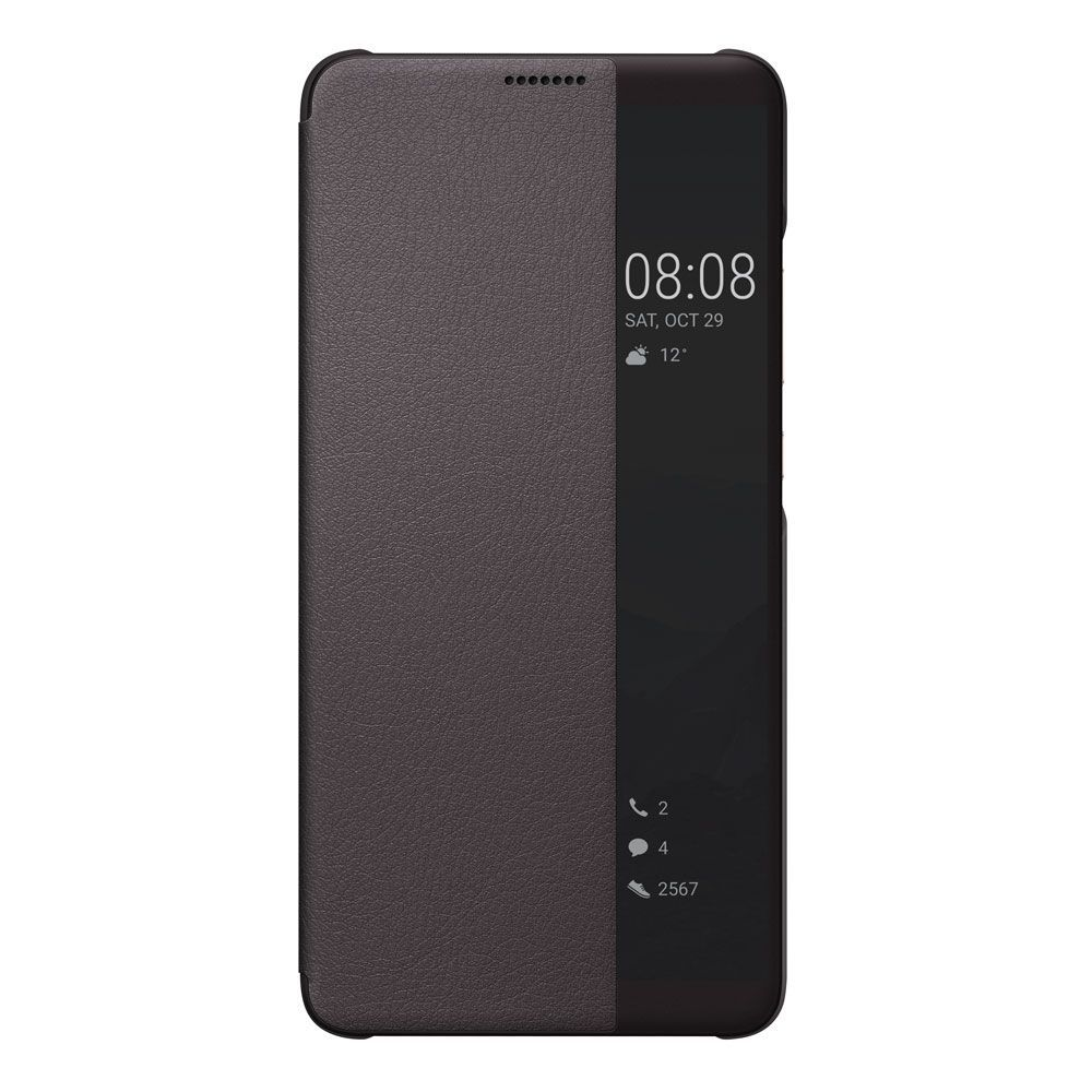 Huawei View Flip Cover for Hauwei Mate 10 Pro Brun