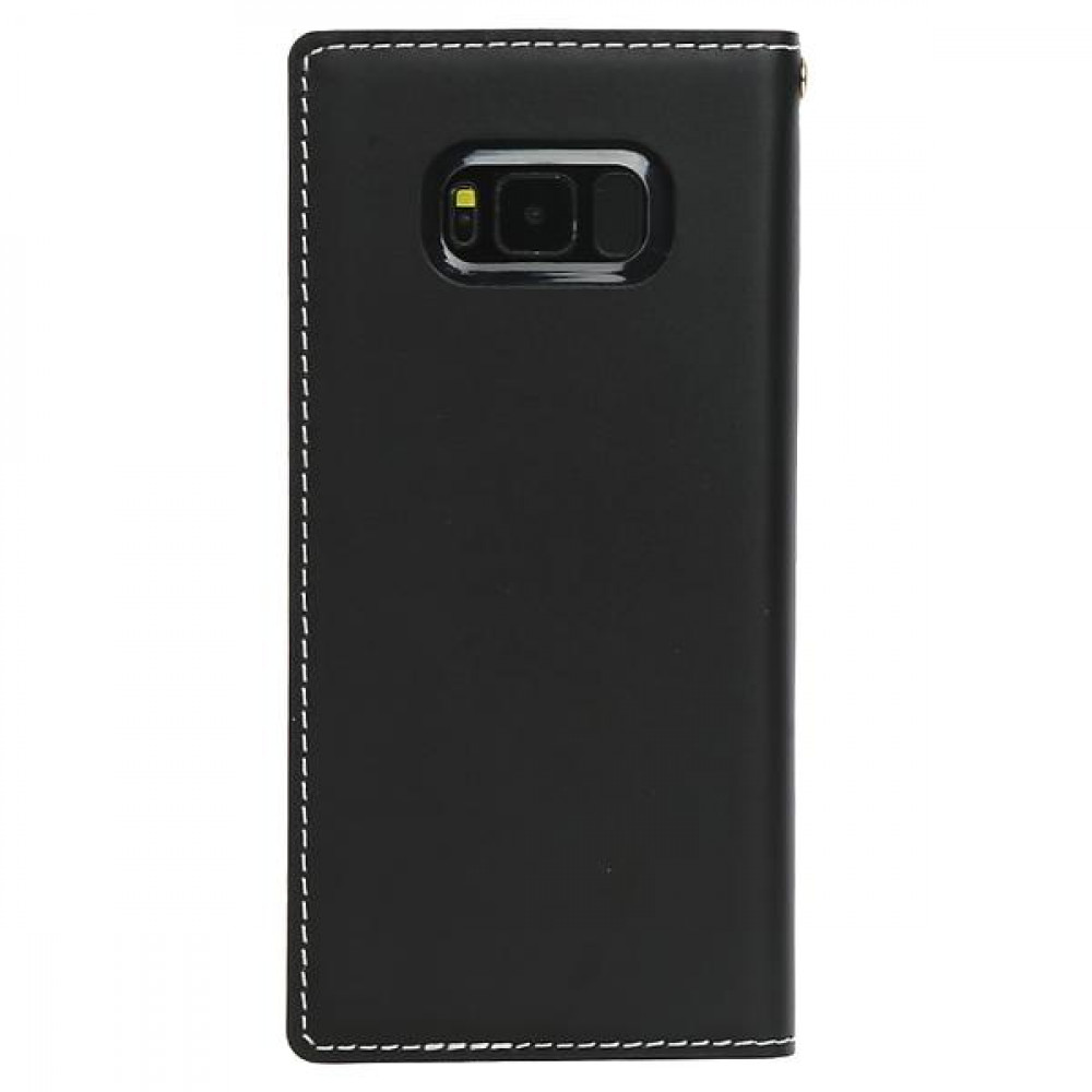 Wetherby Classic Basic Wallet for Samsung Galaxy S8+ (Svart)
