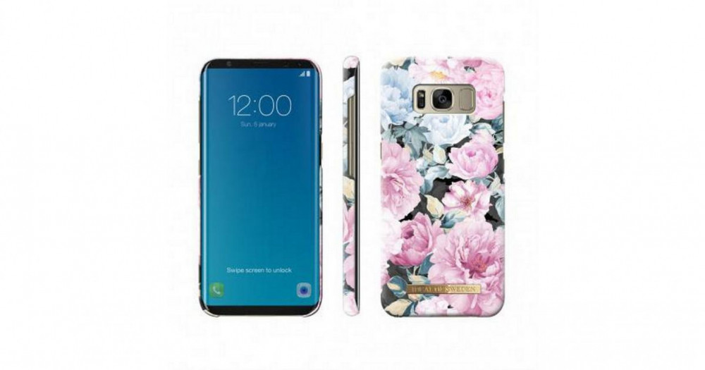 iDeal of Sweden Fashion Case Peony Garden for Samsung Galaxy S8