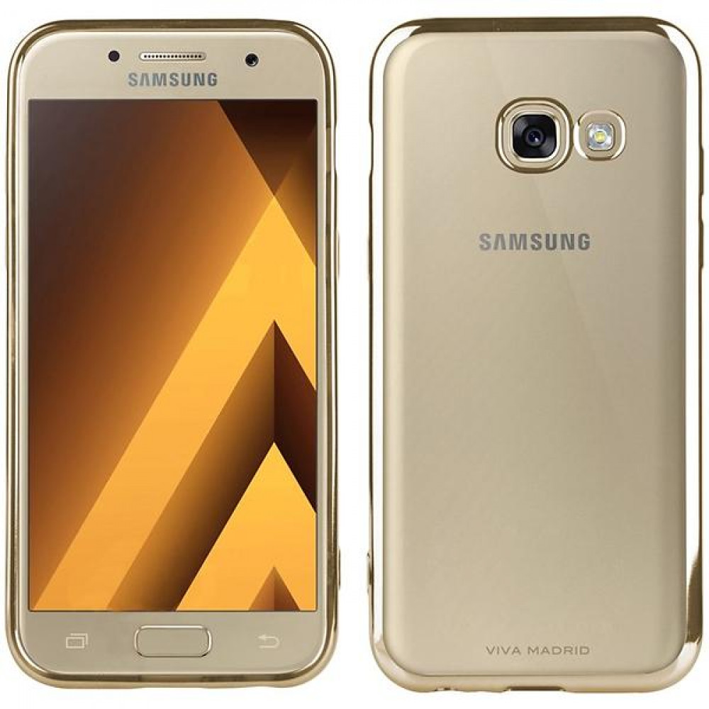 Viva Madrid Metalico Flex Case for Samsung Galaxy A3 (2017) Guld