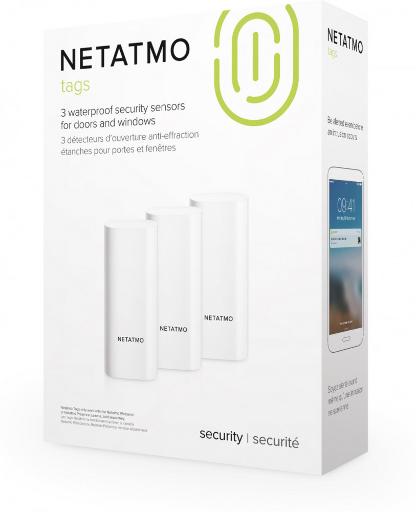 NetAtmo Smart door and window sensors (3-pack)