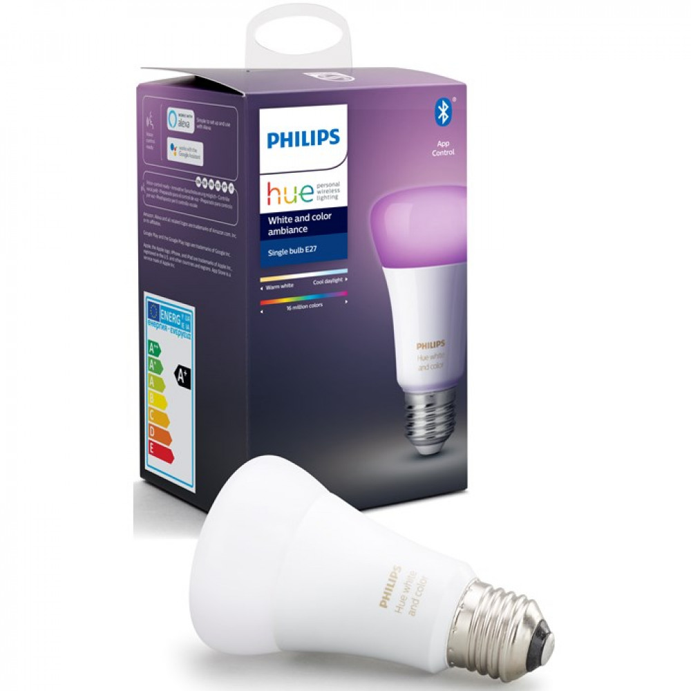 Philips Hue White and Color (9W, A60, E27)