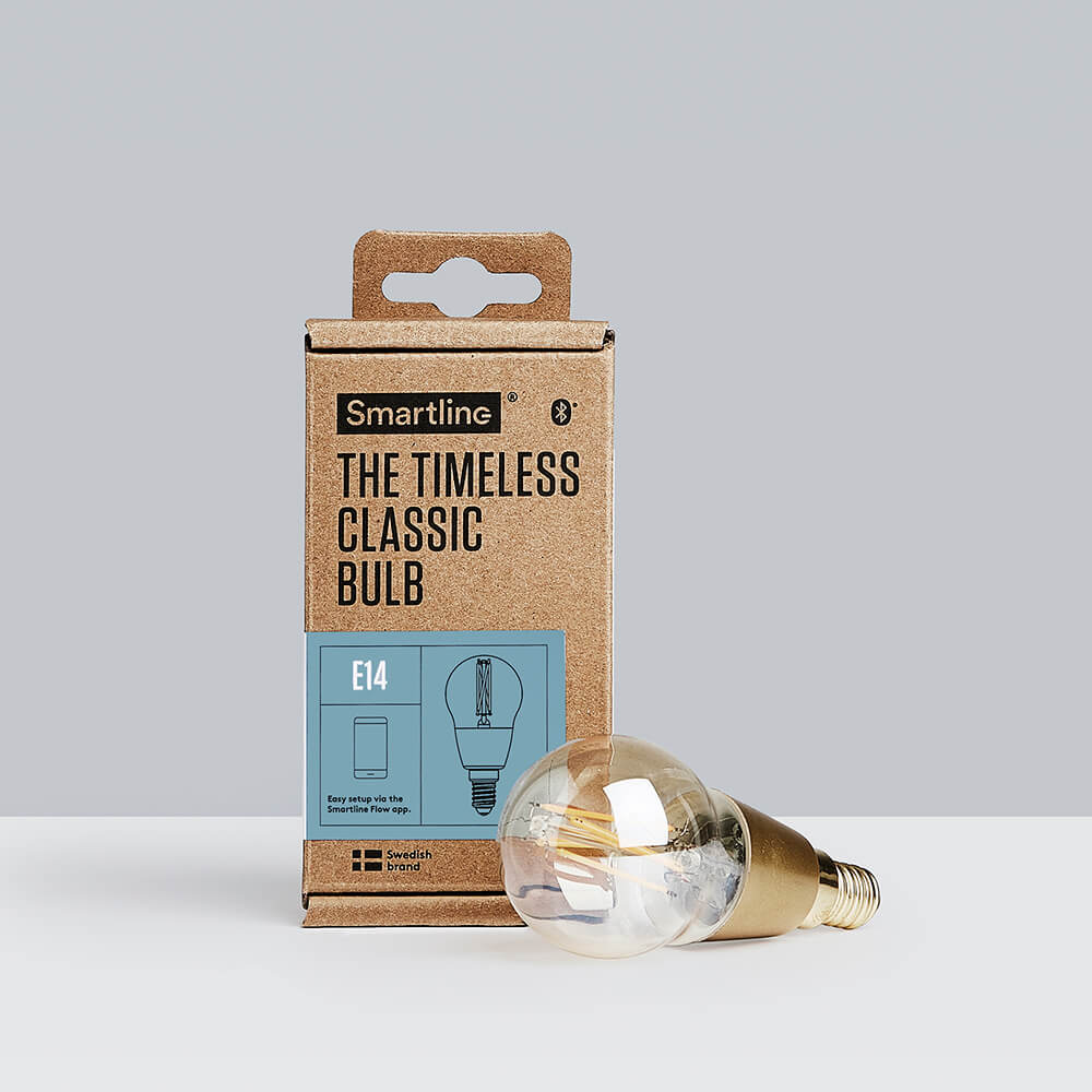 Smartline The Timeless Classic Bulb (Filament, Klot, E14, Varmvit, Bluetooth)