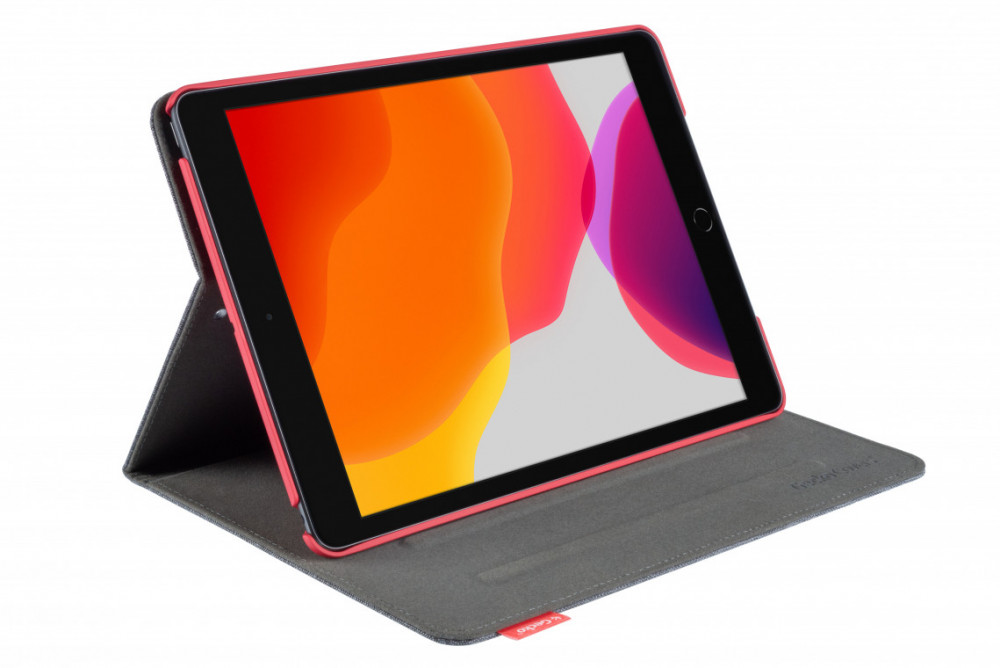 Gecko Covers Ipad 10,2 (2019) Easy-Click Cover Antracite Red
