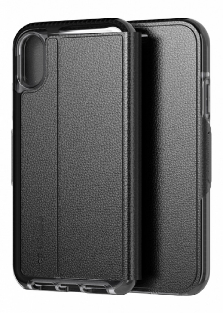 Tech21 Evo Wallet iPhone XR Svart