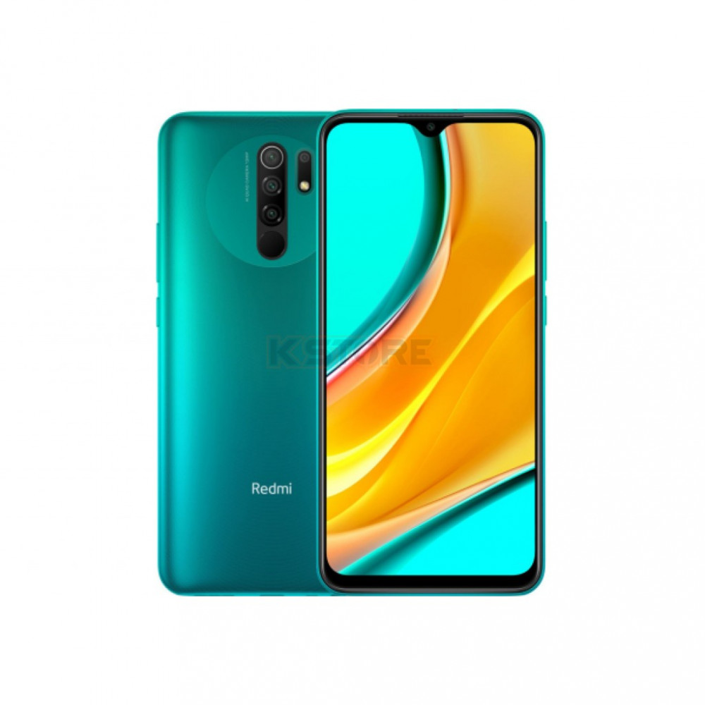 Xiaomi REDMI 9 4+64GB OCEAN GREEN