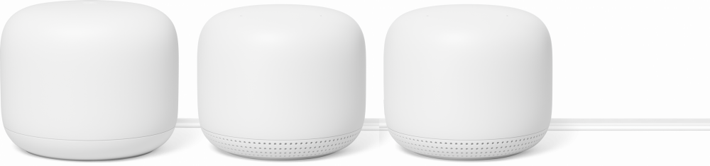 Google Nest WiFi Router+2pack Point
