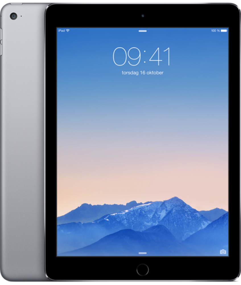 . iPad Air 2 64GB WiFi+4G Rymdgrå