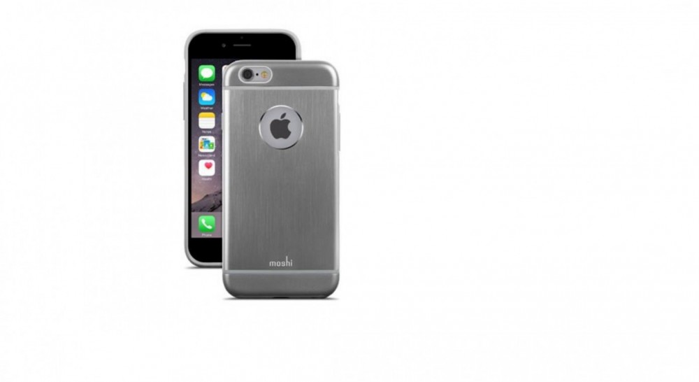 Moshi iGlaze Armour för iPhone 6 Gunmetal Gray