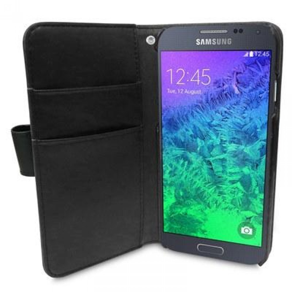 Melkco Walletcase Book Samsung Galaxy S6 Svart