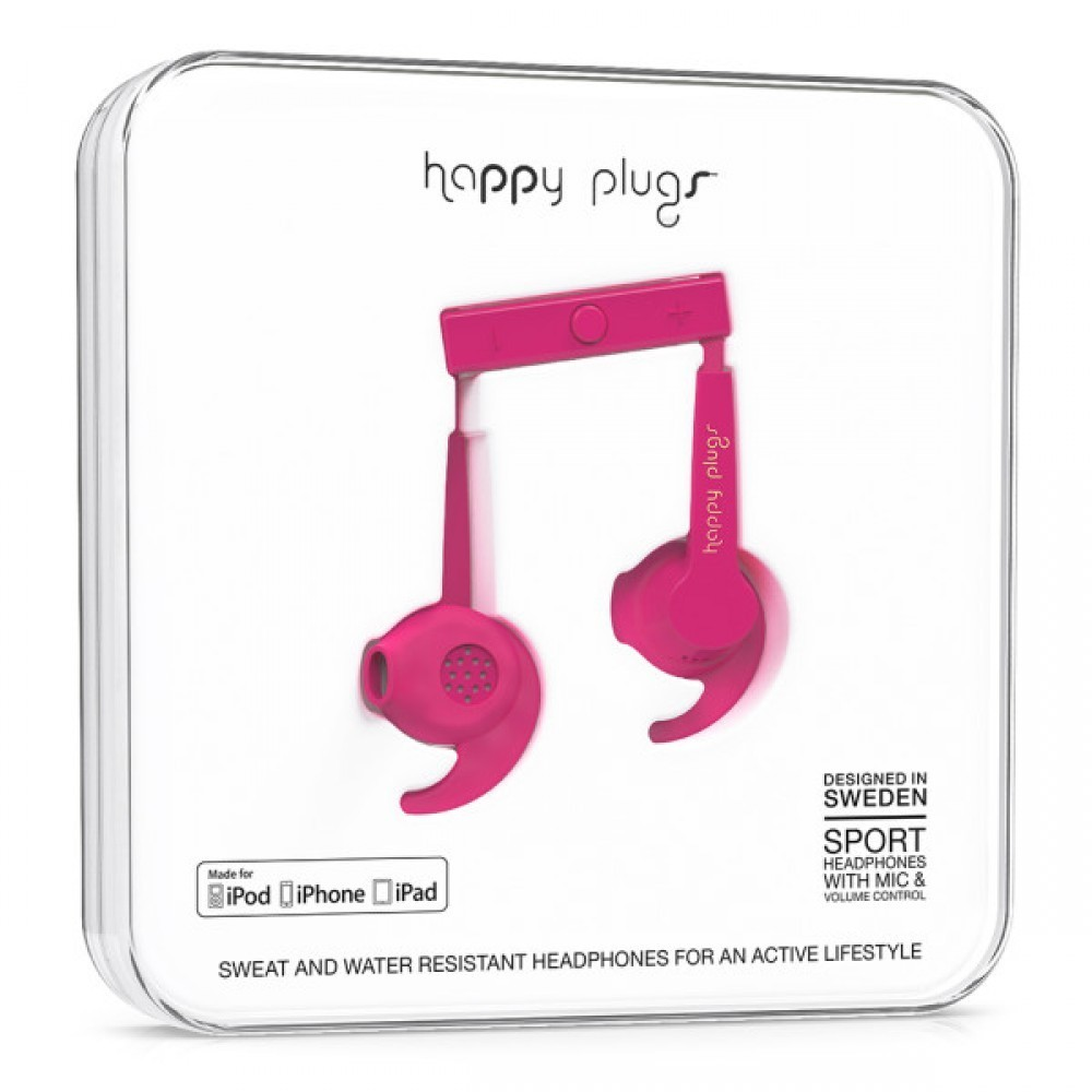 Happy Plugs In-Ear Sport