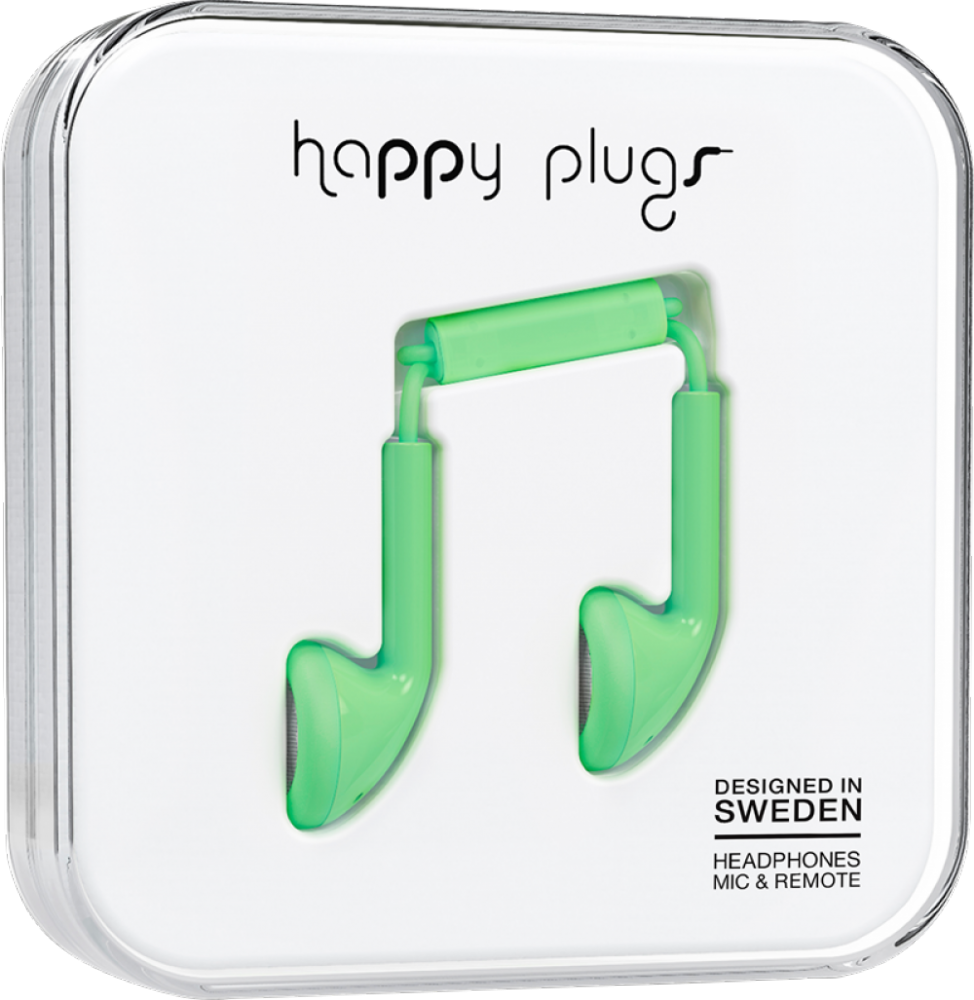 Happy Plugs Earbud Mint