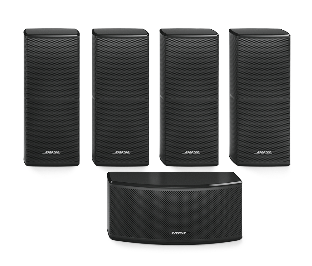 bose lifestyle 600 hemmabiosystem svart davids. Black Bedroom Furniture Sets. Home Design Ideas